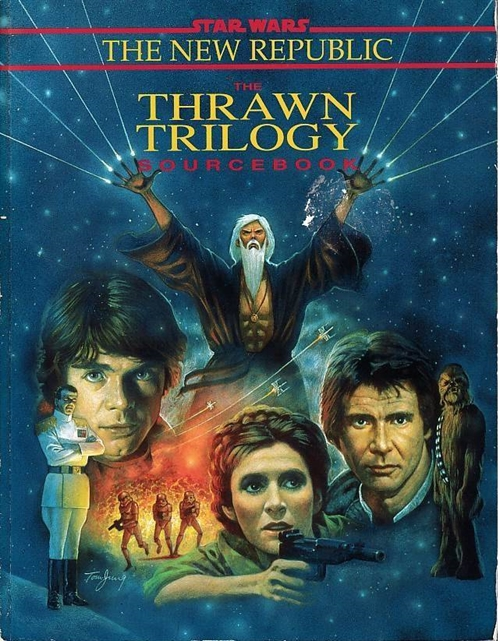Star Wars D6 - The New Republic - The Thrawn Trilogy Sourcebook (B Grade) (Genbrug)
